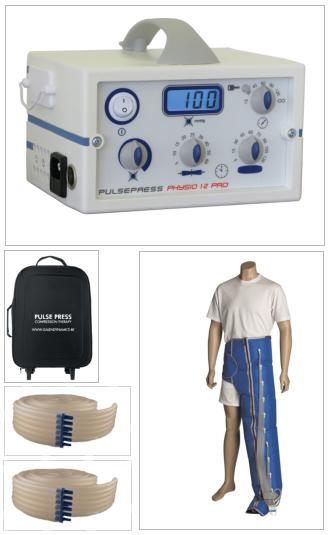 Physio 12 Pro Botte lymphatique G (coté gauche)