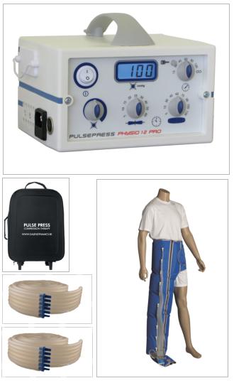 Physio 12 Pro Botte lymphatique D (coté droit)